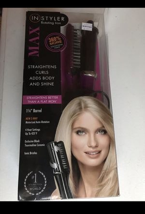 In Styler hair curler and straightener for Sale in Oradell, NJ
