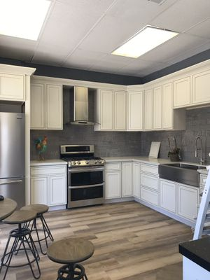 CABINET - FLOORING- AIR CONDITIONING -APPLIANCES for Sale in La Habra, CA