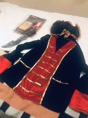 Pirate Adult costume 🏴☠️ size L -XL excellent condition for Sale in Chula Vista, CA