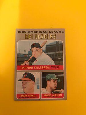 1969 American League RBI Leaders for Sale in North Las Vegas, NV