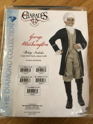 GEORGE WASHINGTON childs Costume by Charades for Sale in North Brunswick Township, NJ