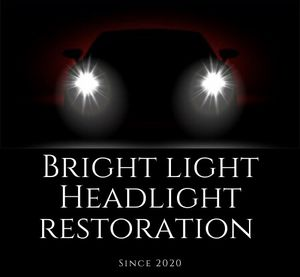 BRIGHT LIGHT HEADLIGHT RESTORATION for Sale in Windsor Mill, MD
