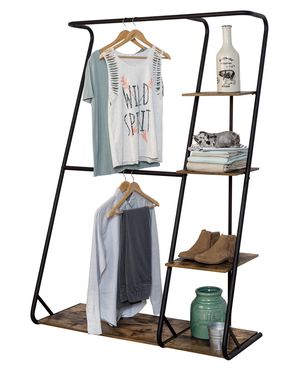 Wardrobe rack with 4 shelves for Sale in Miami, FL