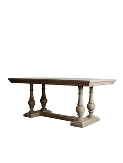 NEW (warehouse clearance) Extendable Farmhouse Dining Table for Sale in Wakefield,  MA