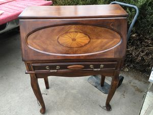 Ashley furniture- secretary's desk, real wood for Sale in Parker, CO
