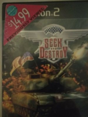 SEEK AND DESTROY PS2 COMPLETE for Sale in Las Vegas, NV