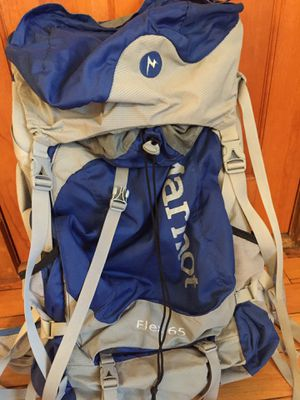 Marmot hiking backpack - 65 liters for Sale in Newton, MA