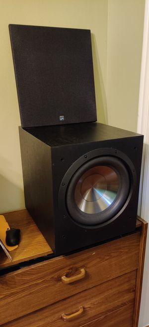 Powered Subwoofer 12 inch BIC for Sale in Roman Forest, TX
