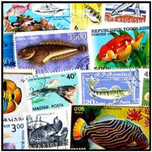 80+ Worldwide Fish & Ocean Marine Wildlife Stamps for Sale in Arlington, WA