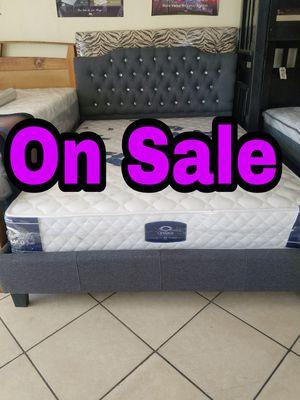 NEW💥QUEEN BED💥MATTRESS INCLUDED💥IN STOCK💥💥 for Sale in Bellflower, CA