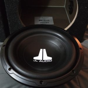"""10"""" JL Audio Brand New, In Brand New Ported Box! 300w Rms 600w Max! Sound Smooth Loud for Sale in Portland, OR"""