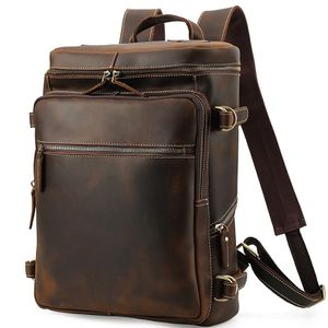 "15.6"" Laptop Grain Leather Backpack for Sale in Kansas City, MO"