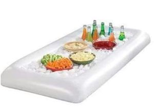 NEW WITHOUT TAGS Inflatable Serving/Salad Bar Tray Food Drink Holder - BBQ Picnic Pool Party Buffet Luau Cooler,with a drain plug. for Sale in Fort Worth, TX