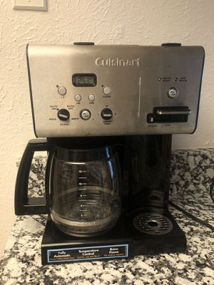 Cuisinart combo fully automatic coffee marker for Sale in Irving, TX