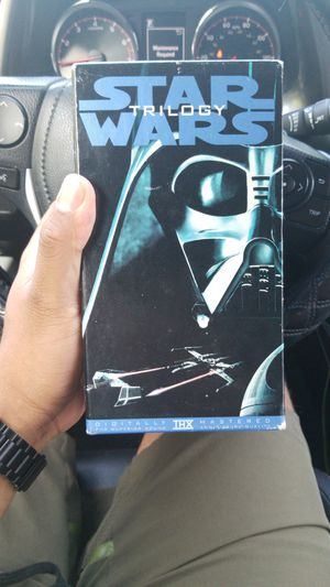 Star Wars Trilogy VHS for Sale in Jacksonville, FL