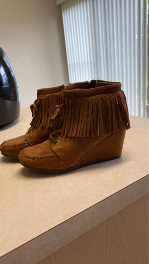 Fringe Booties for Sale in Melissa, TX