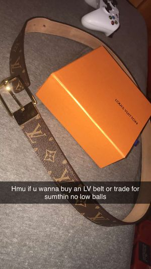 Louis Vuitton belt for Sale in La Porte, TX