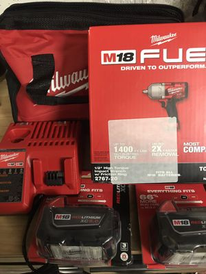 Milwaukee impact wrench high torque for Sale in Bolingbrook, IL