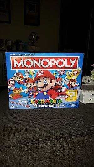 Monopoly Super Mario Celebration for Sale in Lake Elsinore, CA