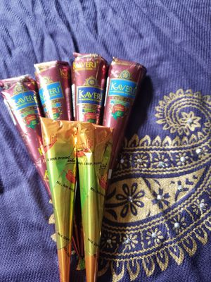 6 Henna Cones for Sale in Parsippany, NJ