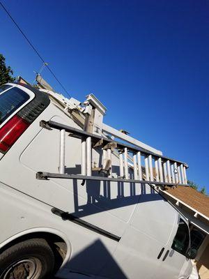 ladder rack for COMMERCIAL van for Sale in Chula Vista, CA