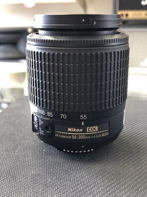 Nikon 55-200mm Camera Lens for Sale in Humble, TX