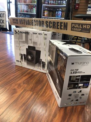Full HD home entertainment system for Sale in Brea, CA