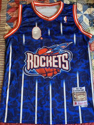 ROCKETS BAPE JERSEY for Sale in Vernon, CA
