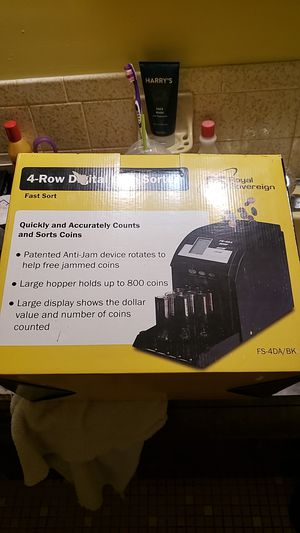Coin sorter for Sale in Port Richey, FL