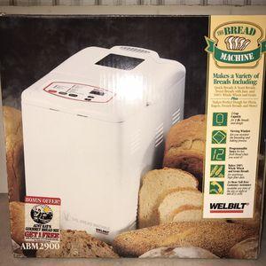 Welbilt Bread Machine Bread Maker ABM2900 for Sale in Knoxville, TN