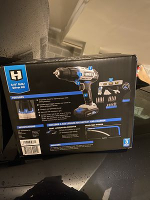 Hart drill/driver kit for Sale in York, PA