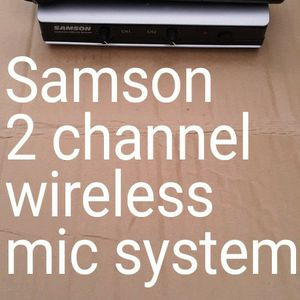 Dual Channel wireless Mic System for Sale in Mt. Juliet, TN