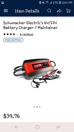 Battery charger 6v/12v never used for Sale in Montgomery, AL
