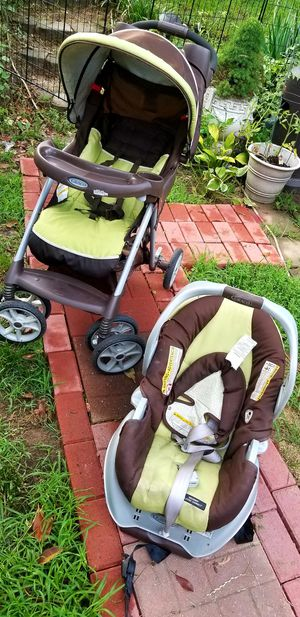 Graco Comfy Cruiser Click Connect Travel System, Go Green for Sale in Hyattsville, MD