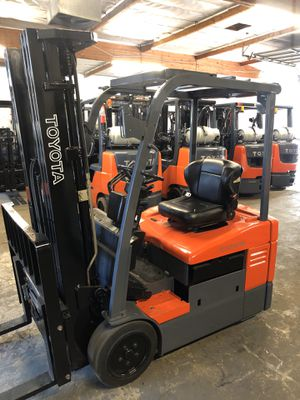 2014 Toyota 7FBEU15 Electric Forklift for Sale in La Verne, CA