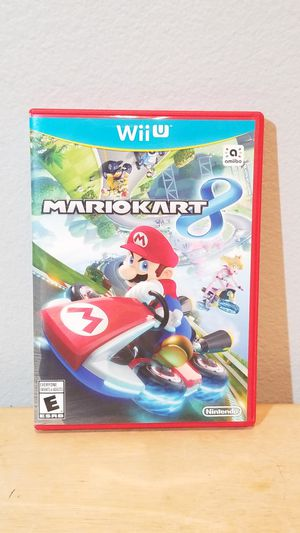 Nintendo Wii u Mario Mario Kart Complete with Original Manual for Sale in Huntington Beach, CA