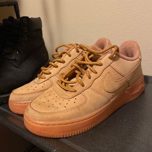 Tan Nike air forces for Sale in Renton, WA