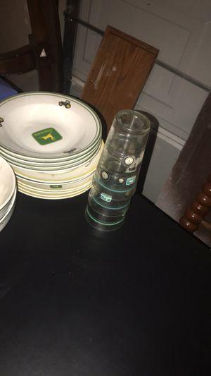 John Deer Plates/Bowls/Glasses for Sale in Ada, OK