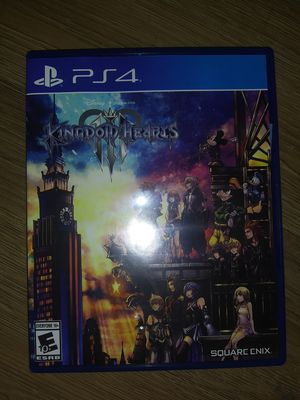 PlayStation PS4 Kingdom Hearts Video Game for Sale in Phoenix, AZ