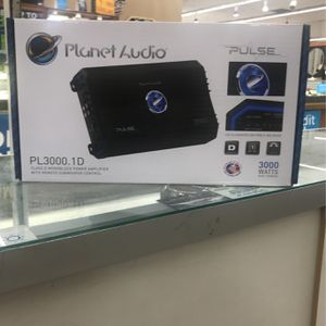 Planet Audio 3000 Watts Amp for Sale in Houston, TX