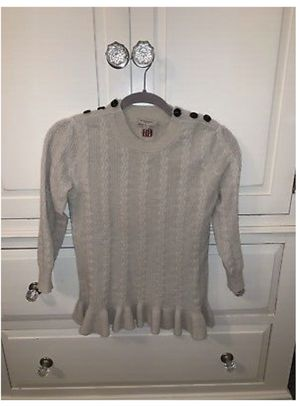 Burberry peplum beige sweater for Sale in Mountain Lakes, NJ