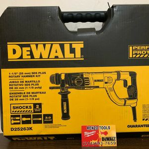 "BRAND NEW 8.5 AMP - 1-1/8""SDS PLUS ROTARY HAMMER KIT - PRECIO FIRME - FIRM PRICE for Sale in Dallas, TX"