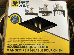 Pet Zone Adjustable Dog Feeder for Sale in San Diego, CA