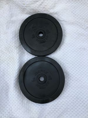 15 pound set of weight plates for Sale in Los Angeles, CA