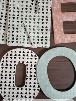 NEW Cast Iron/metal letters/#'s for Sale in Vallejo,  CA