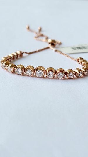 18KT over sterling silver bracelet for Sale in Miami Beach, FL