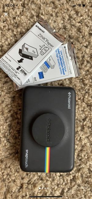 Polaroid Snaptouch bluetooth camera for Sale in Lakeland, FL