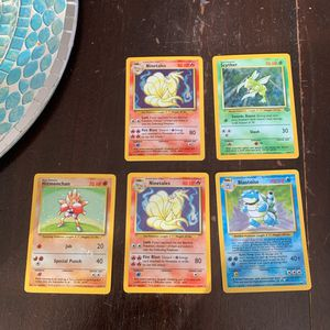 1999 Holographic Pokémon cards for Sale in Gaithersburg, MD