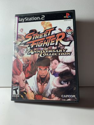PlayStation 2 - Street Fighter Anniversary collection - ps2 for Sale in Sugar Hill, GA