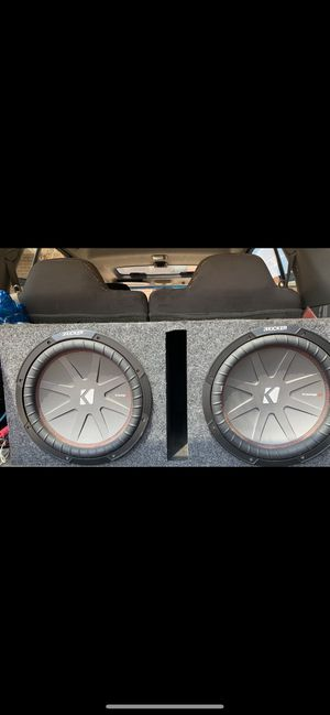 """XTREME CLASS D AMP, 15"""" Subwoofers, tweeters, bass control for Sale in Durham, NC"""